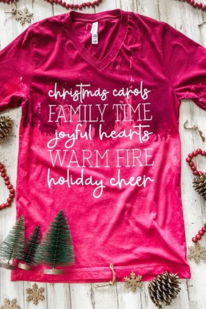 Family & Cheer Christmas Tee
