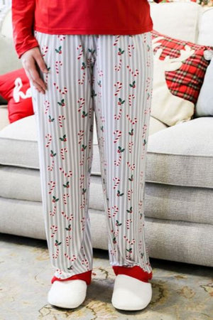 Christmas PJ Pants - Holly Jolly
