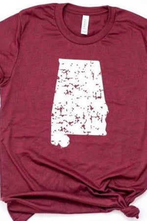 Distressed Alabama Tee