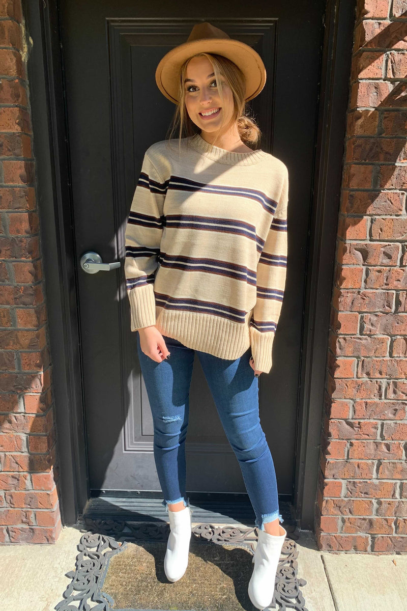Simply Striped Sweater