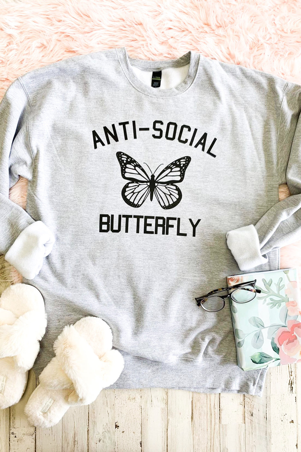 Anti-Social Butterfly Sweatshirt