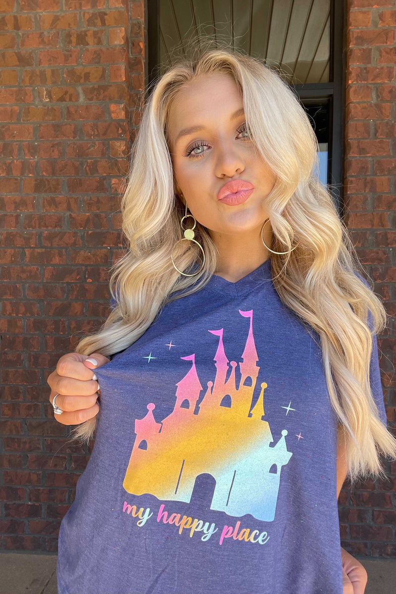 My Happy Place Disney Tee