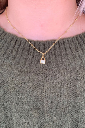 Little Lock Necklace