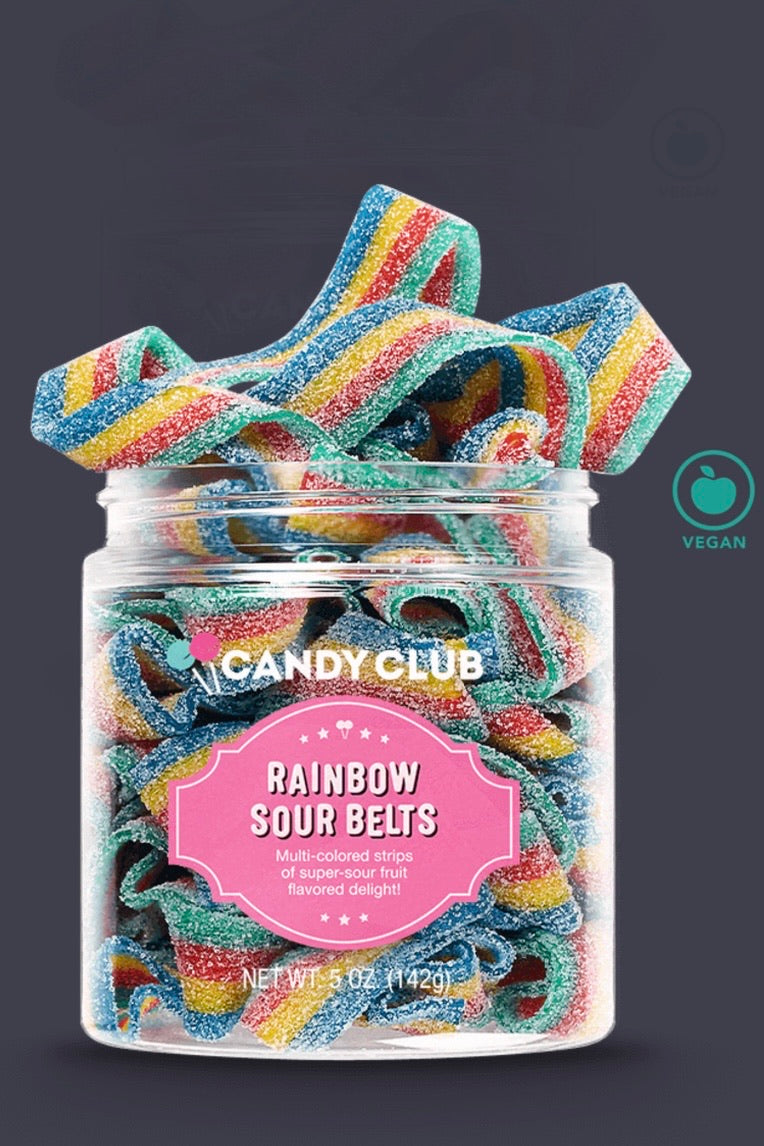 Candy Club Rainbow Belts
