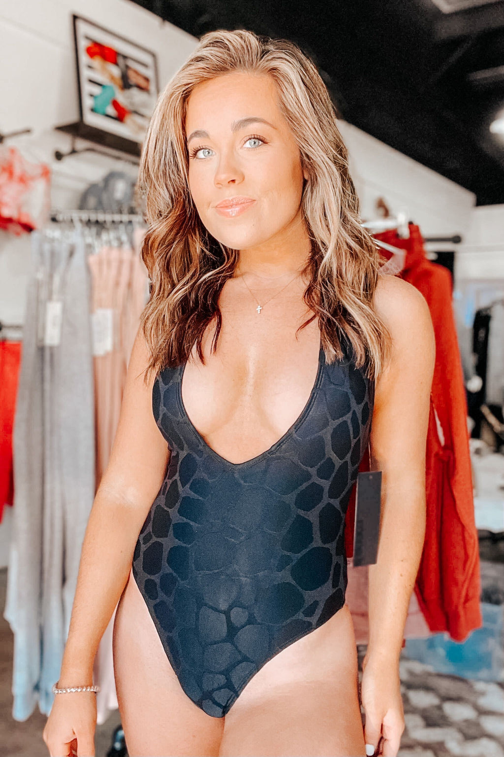 Black Giraffe One Piece