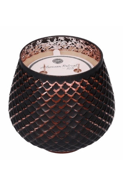 Afternoon Retreat Black 2-Wick Candle