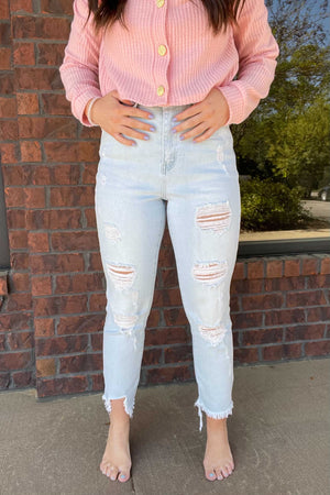 Lexi Light Crop Jeans