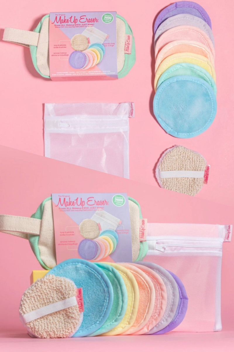 Makeup Eraser 7-Day Set + Puff