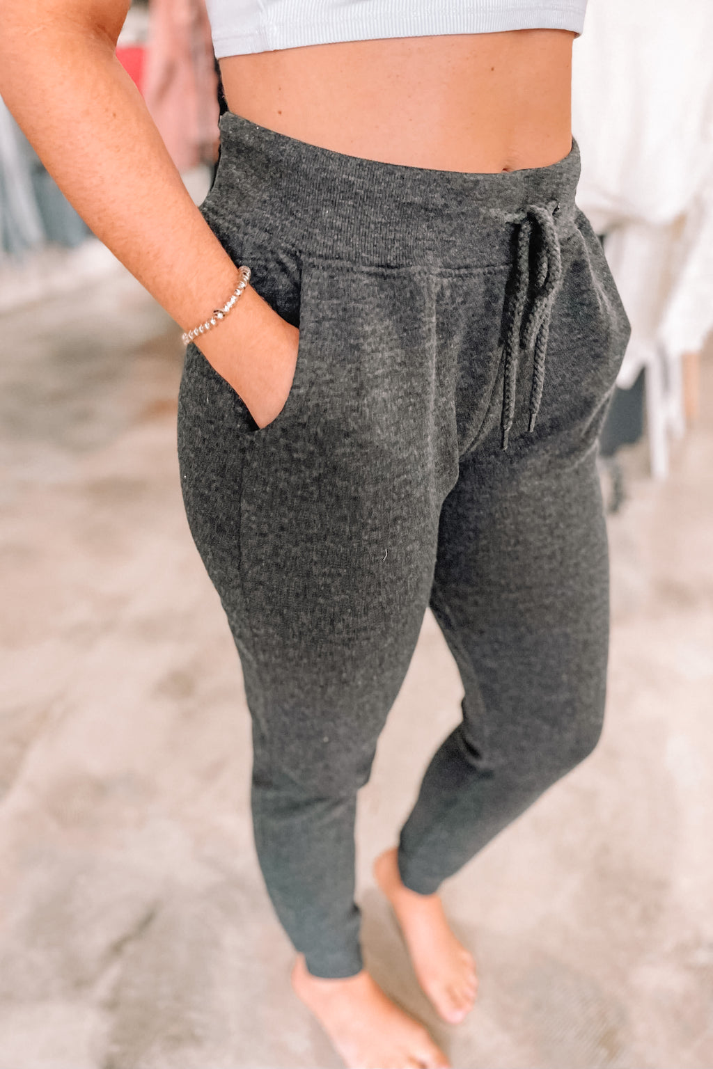 Relax Joggers - Charcoal
