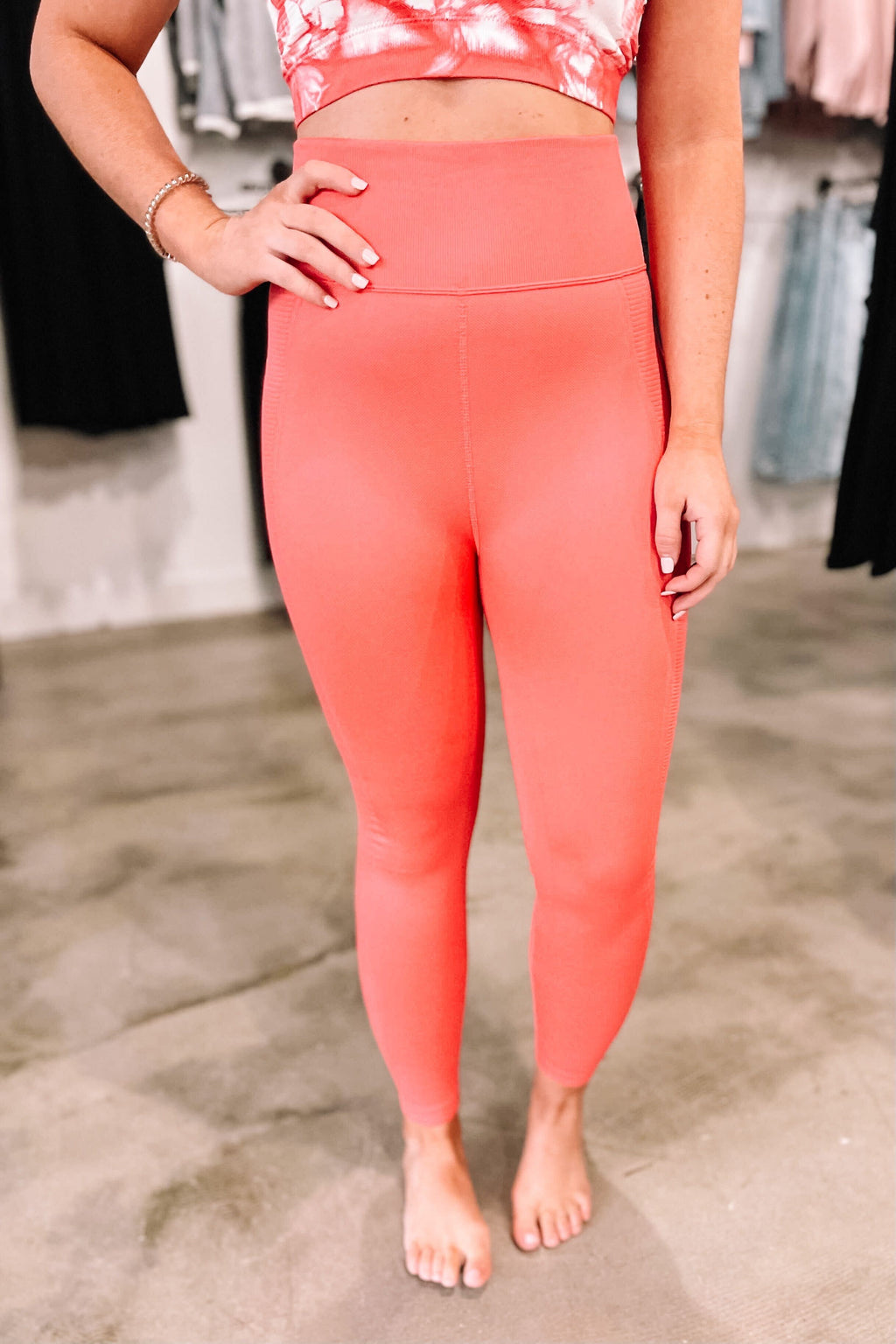 Orange Cream Leggings
