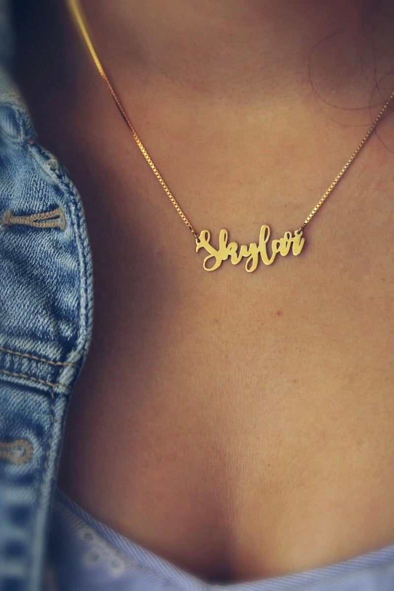 Sassy Personalized Necklace