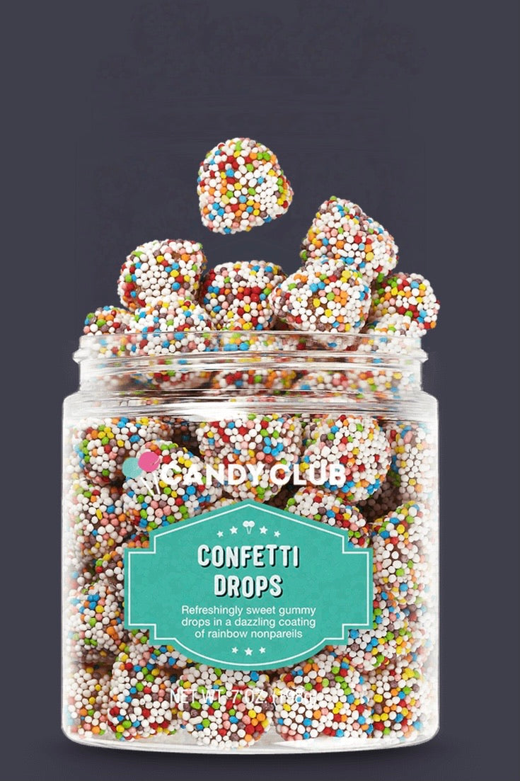 Candy Club Confetti Drops