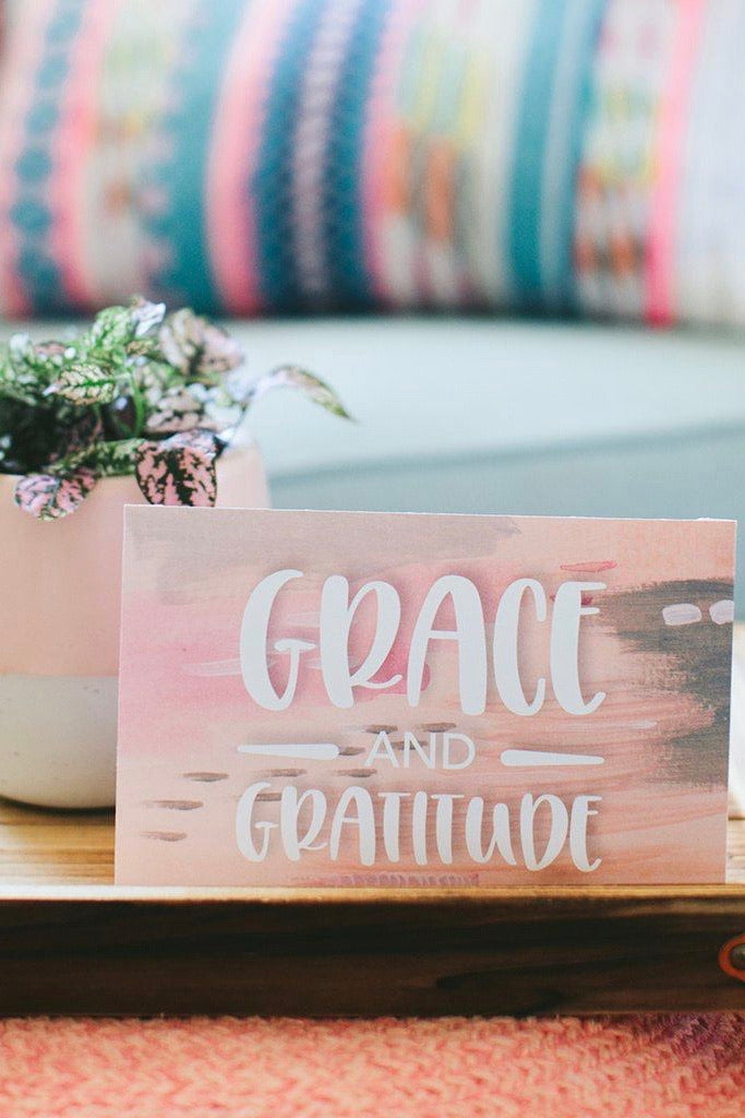 Gratitude Sweet Grace Satchet