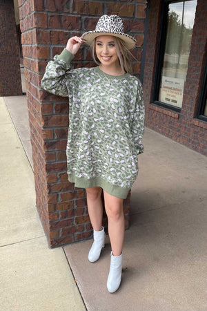 In the Wild Sweatshirt Dress