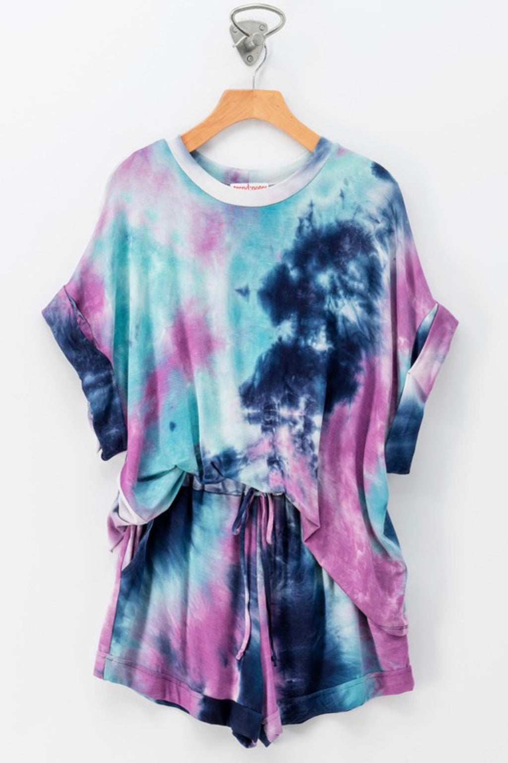 Royal Tie Dye Top