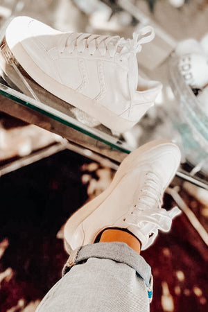 White Leather Sneaks