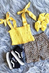Sunshine Kids Yellow Crop Top