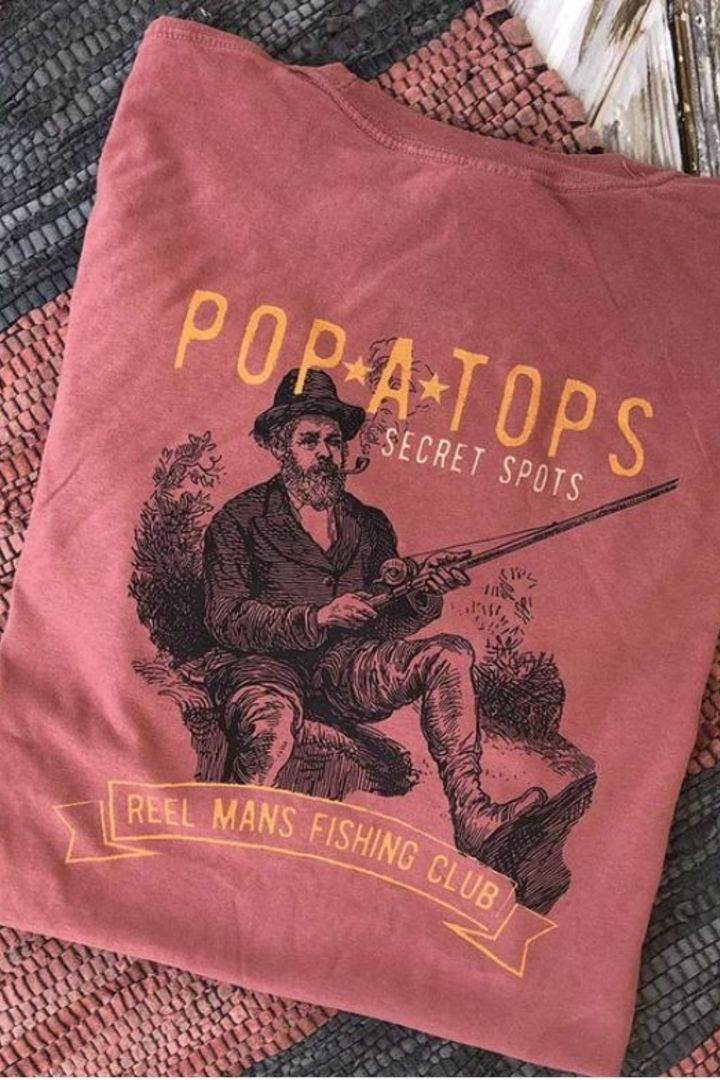 Pop A Top Fisherman Tee