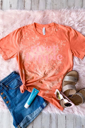 River Hippie Distressed Tee