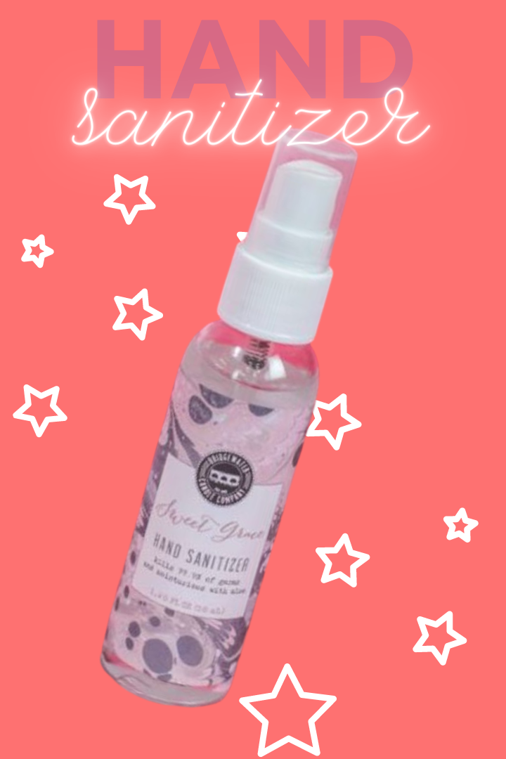 Sweet Grace Hand Sanitizer Spray