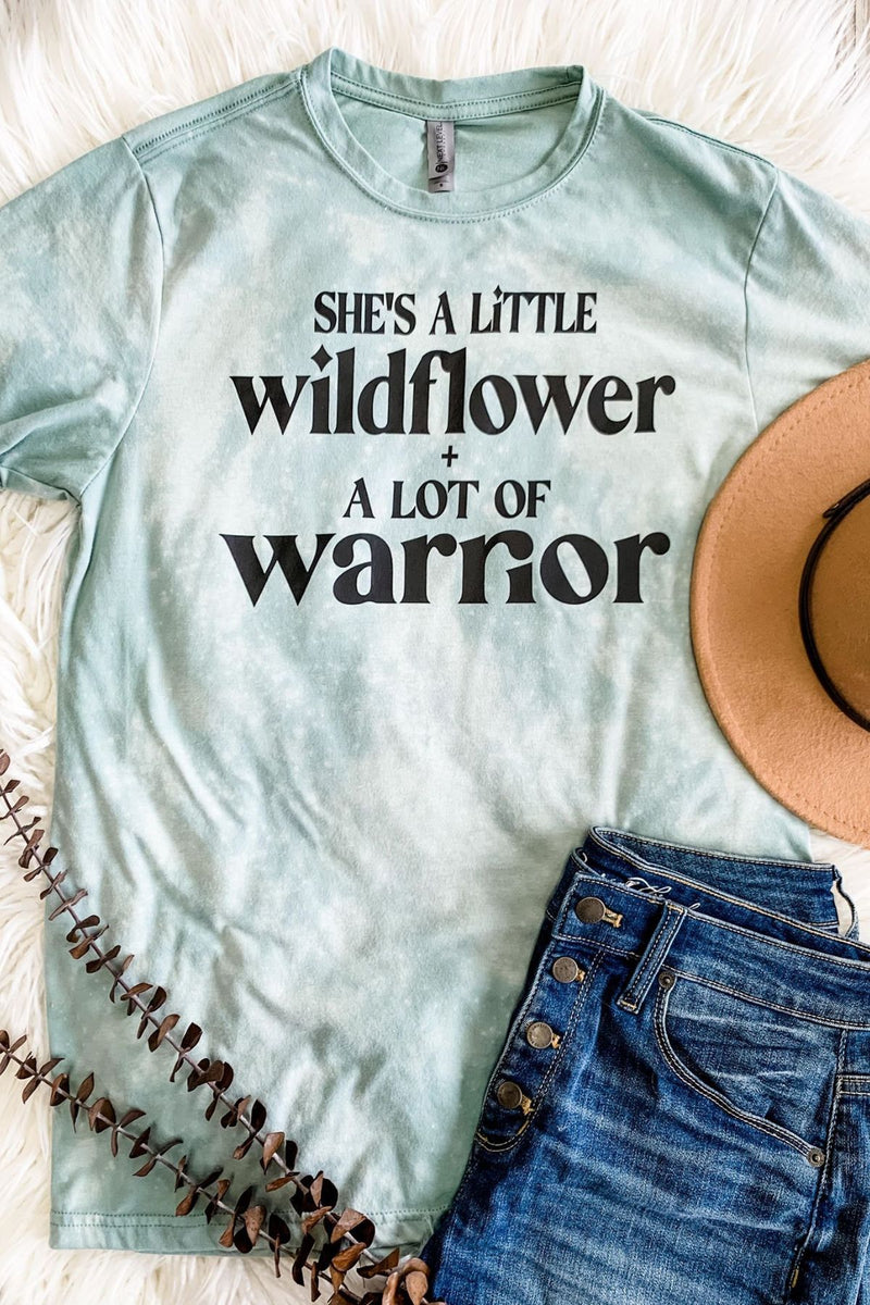 Wildflower Warrior Tee