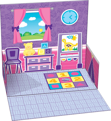 Tiny Tukkins playsets illustration