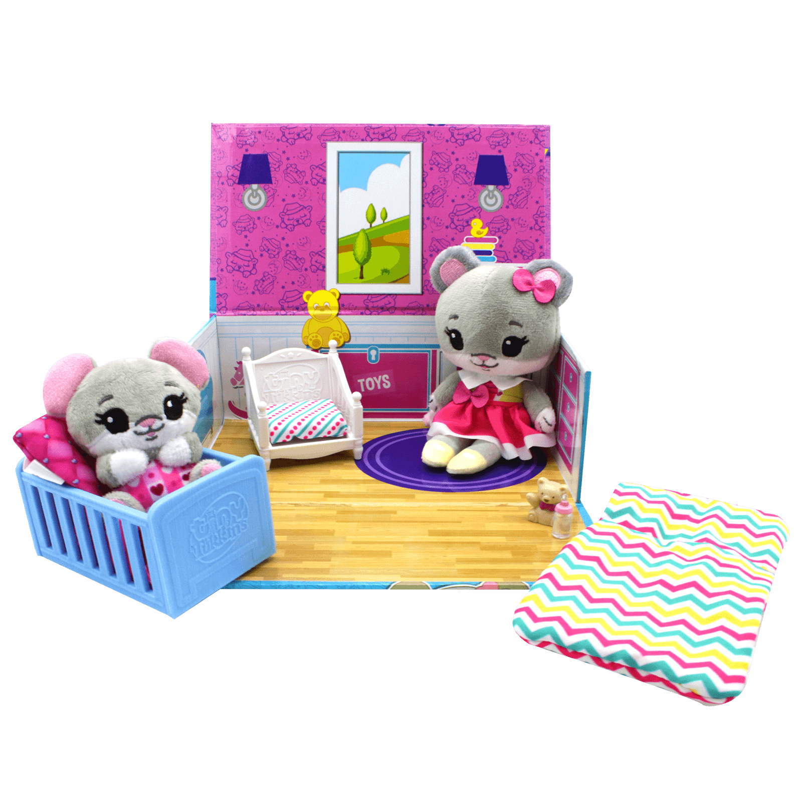 Naptime Nursery Playset