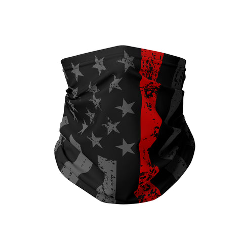 Blackout Flag First Responder Neck Gaiter