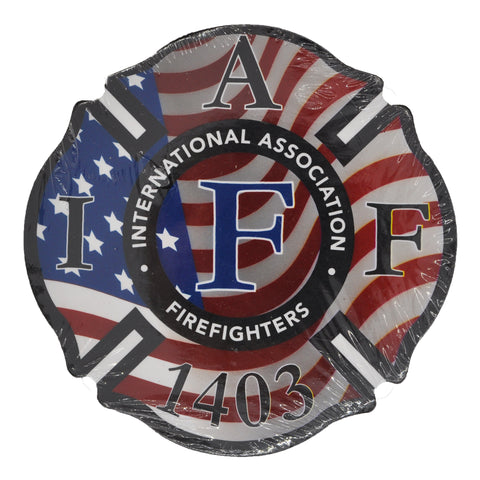 IAFF 1403 Amercian Flag Coasters (4 Pack)