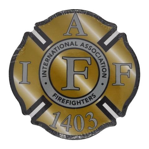 IAFF 1403 Gold Coasters (4 Pack)