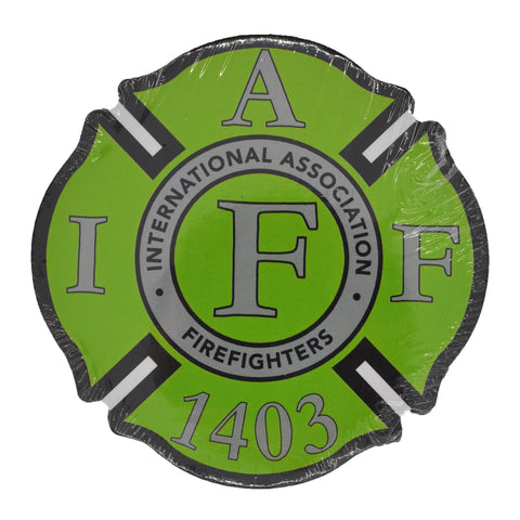IAFF 1403 Green Coasters (4 Pack)