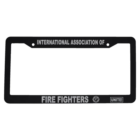IAFF License Plate Frame