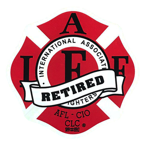 IAFF DECAL (RETIRED)