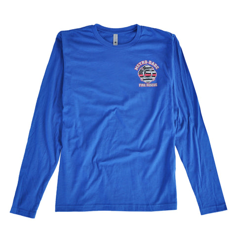 MDFR Local 1403 American Flag L/S