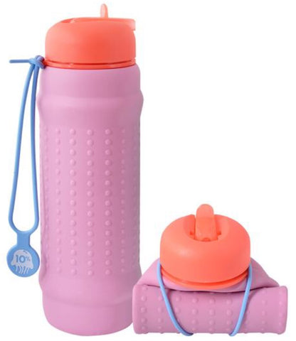 Rolla Bottle Pink Lilac - Coral Lid