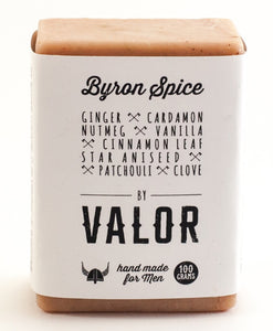 Organic Valor Olive Oil Soap Bar - Byron Spice