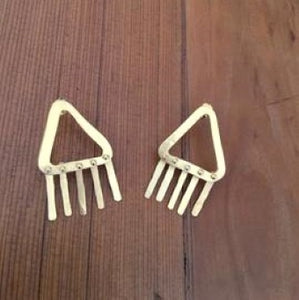 Fringed Earrings - Gold