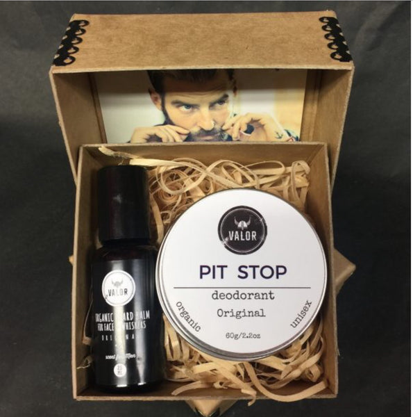 Small Beard and Deodorant Duo Gift Box