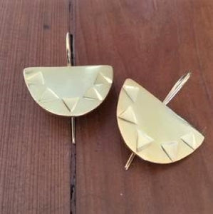 Setting Sun 18kt Yellow Gold Plated silver earrings