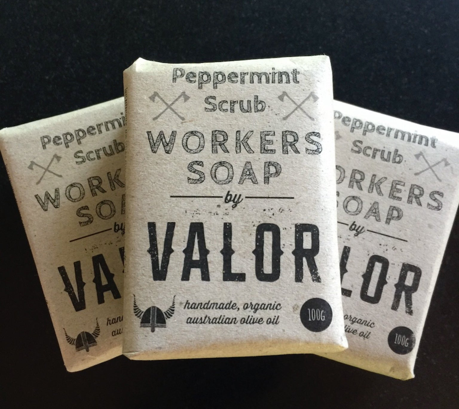 Peppermint Scrub - Workers Soap Bar
