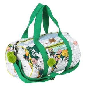 Flight Path Quilted Duffle Bag
