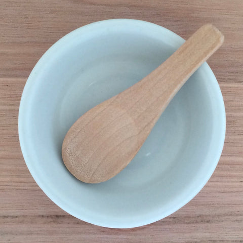 Mixing Spoon And Dish