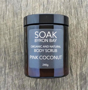 Pink Coconut Body Scrub