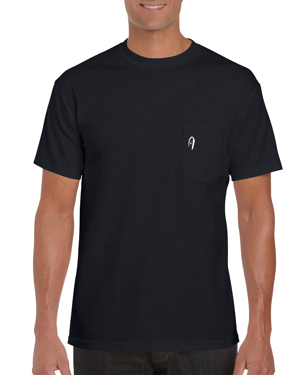 8 Graves Pocket Tee - Black
