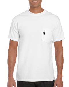8 Graves Pocket Tee - White