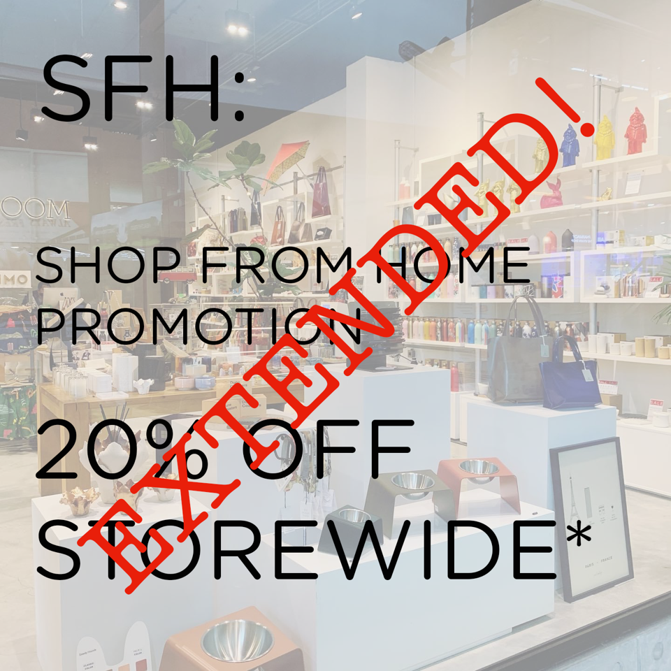 SHOP FROM HOME PROMOTION