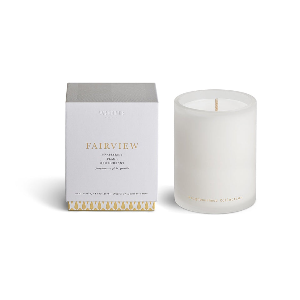 VANCOUVER CANDLE CO. Neighbourhood Collection Single Wick Candle - FAIRVIEW