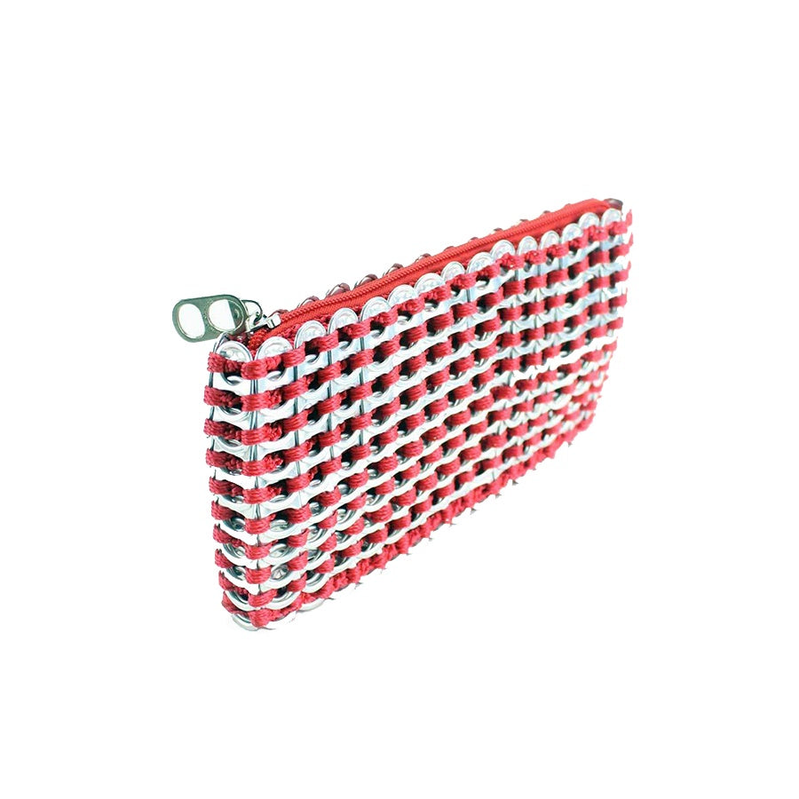 ESCAMA STUDIO Chica Rosa Clutch - Red