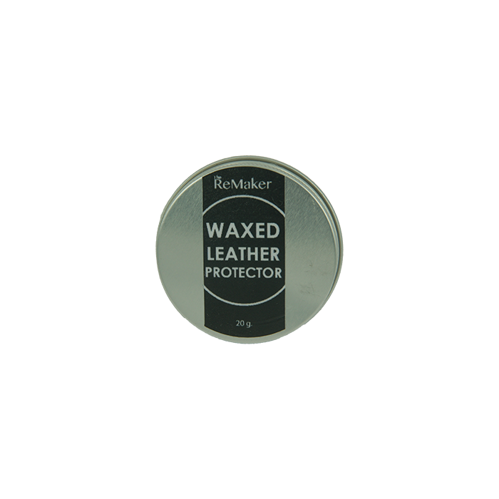 THE REMAKER Waxed Leather Protector - 20g | the OBJECT ROOM