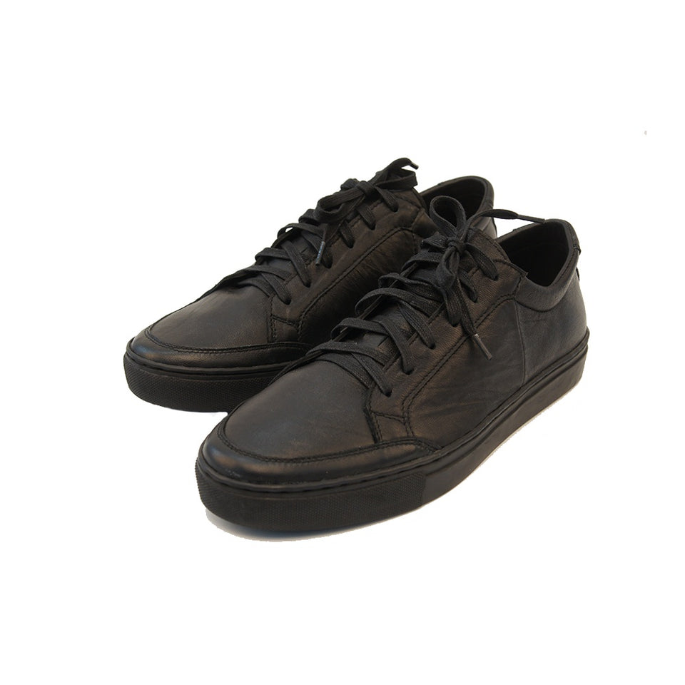 THE REMAKER Leather Sneakers - Bangkokian Black